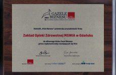 Obraz - Gazela Biznesu 2011 - wręczenie