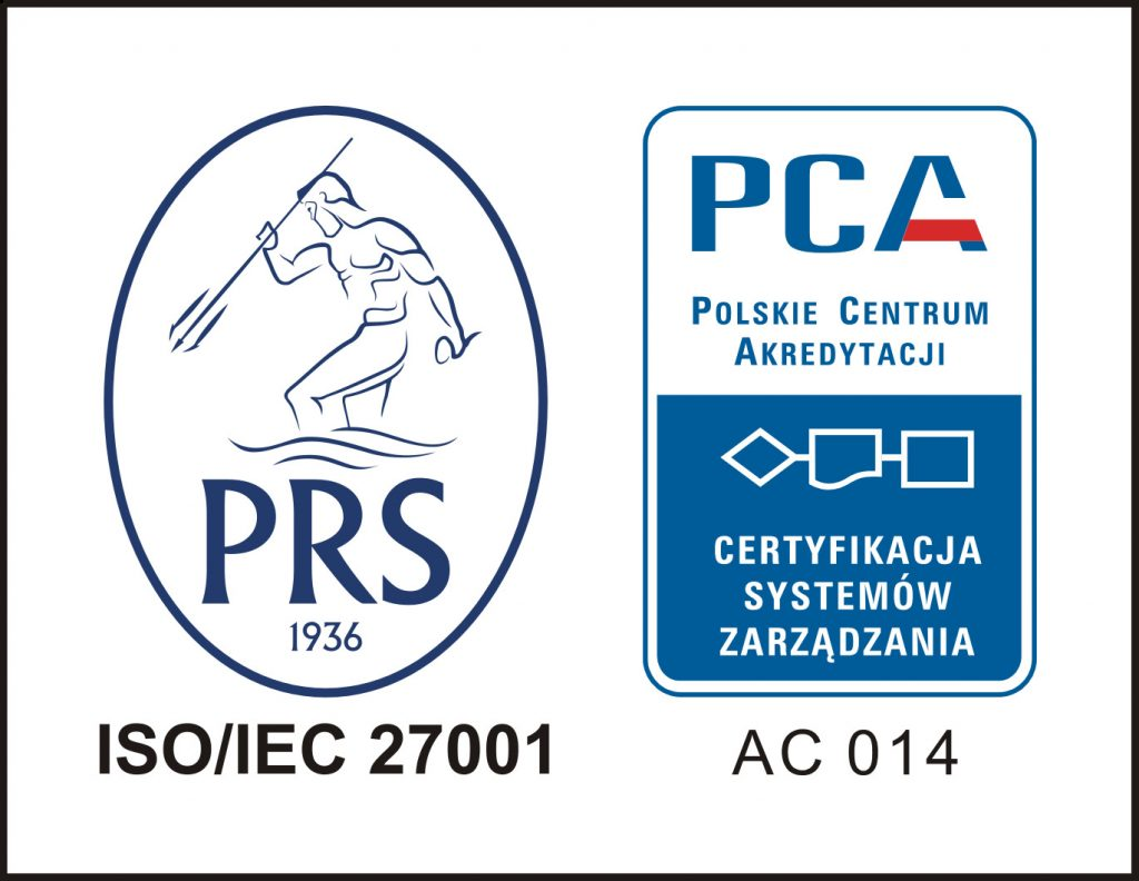 CERTYFIKAT ISO/IEC 27001:2013