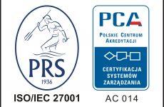 PRS ISO27001 znak PCA